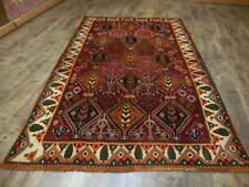 C1930 Vg Dy Qashqai Antique Yalameh Serapi Heriz Viss 5.6x8.4 Estate Sale Rug