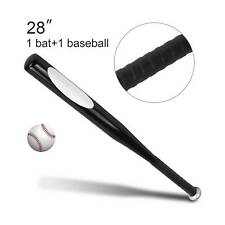 "Steel Alloy Baseball Bat 28"" Lightweight Anti-Slip Grip Rounders Metal Softball"