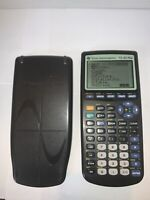 Texas Instruments TI-83 Plus Graphing Calculator Black DEAD PIXELS FOR PARTS