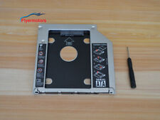 9.5mm Universal Optical bay 2nd HDD Hard Drive Caddy SATA f Apple Macbook Pro US