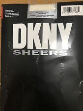 New DKNY Sheers Control Top Pantyhose Silky Sheer Porcelain Medium