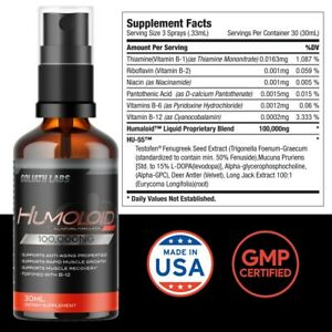 Anabolic Testosterone Booster Build Muscle No/Hgh 2 Bottle (2OZ)