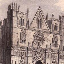 Lyon Cathédrale Primatiale St Jean Rhône 1834 Rauch Schroeder