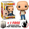 FUNKO POP ONE PUNCH MAN SAITAMA CASUAL #719 VINYL FIGURE + FREE POP PROTECTOR