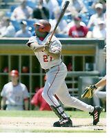 8x10 photo Baseball,Vladimir Guerrero Los Angeles Angels ~Batting Game Action