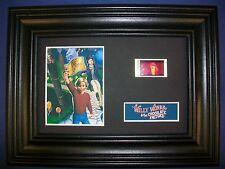 Willy Wonka Framed Movie Film Cell Memorabilia - Compliments poster dvd book