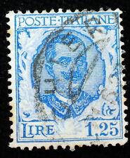 1926  Regno D' Italia  1,25  lire  Floreale   Varietà