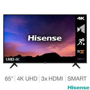 Hisense 65A6GTUK 65 Inch 4K Ultra HD Smart TV - 5 YEAR WARRANTY INCLUDED
