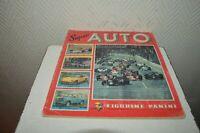 ALBUM  PANINI  SUPER AUTO F1 F2 RALLY SPORT FORMULE 1 VOITURE VINTAGE 1977
