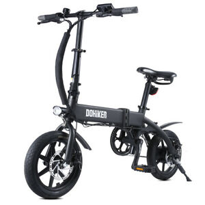 14 Zoll Folding Electric Bicycle 250W Collapsible Electric Bike 14'' IP54 Aussen