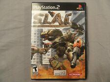 SLAI Steel Lancer International Arena PS2 PlayStation 2 - Complete CIB