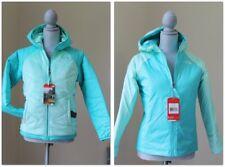 NEW THE NORTH FACE GIRLS S Perseus Reversible Jacket HOODIE GREEN HeatSeeker