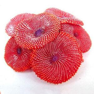 Aquarium Artificial Fake soft Coral Plant Fish Tank Ornament  D C Didb  L3