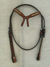 WESTERN SHOW/TRAIL Headstall/Bridle with RAWHIDE ACCENTS