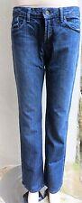 "ARISTOCRAT Windsor Boot Cut Denim Dark Rinse Jeans Pants Sz 28, 33""L MINT"