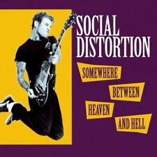 SOCIAL DISTORTION - SOMEWHERE BETWEEN HEAVEN AND HELL - CD SIGILLATO
