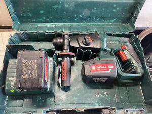 Metabo KHA18LTX 18v SDS Hammer Drilll + Batteries + Charger