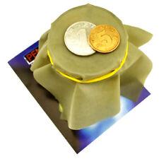 Coin Penetration Dish Coin Thru Rubber Sheet Into Cup Black Hole Magic Tric Cyca