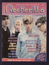 ROCKERILLA 197/1997 BLUR REEF SEEDS CAPOSSELA SOPHIA LODESTAR MIKE GUNN MAGNOG