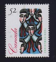 Canada Sc #1534ii (1994) 52c Unissued Christmas Carolling Mint VF NH