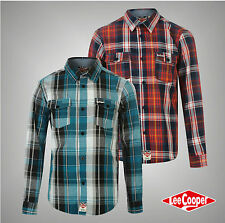 Lee Cooper Long Sleeve Checked Shirts (2-16 Years) for Boys