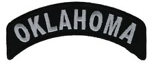 Oklahoma State Rocker Embroidered Patch F2D18C