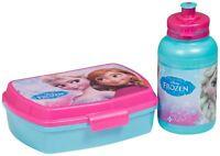 Disney Brotdose +Trinkflasche Brotbüchse Kinder Lunchbox Schule Kindergarten