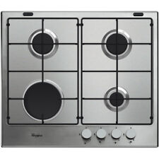 Whirlpool Absolute GMA6411/IX Built-In Stainless Steel Gas Hob 2 Year Guarantee