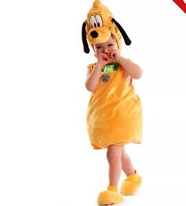 "Plush ""PLUTO"" Costume By ""DISNEY STORE "" — 18-24 Months  - BNWT"