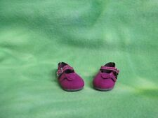 "Grape Purple Cloth Mary Jane Shoes Paola Reina 13.5"" Dolls Accessory Collectible"
