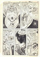 Green Lantern #151 p.4 - Guardians of the Universe 1982 art by Carmine Infantino