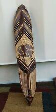 Wood Tiki Mask Elephant wall decor