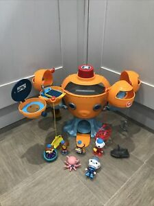 Octonauts Octopod Playset With + Figures & Accessories