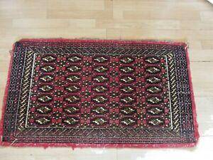 Vintage Small Boho Stylish Oriental Rug