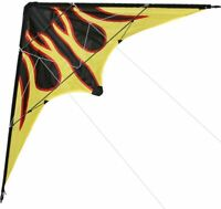 New 48-Inch 1.2m Dual Line Flame Stunt Kite Outdoor fun Sport Toys for Beginner