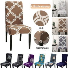 Stretch Spandex Chair Covers Slipcovers Protector for Dining Room Wedding Home