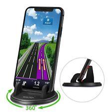 Dashboard Cell Phone Holder,Car Phone Mount[Vertical Horizontal 360°Rotate]