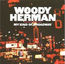 """WOODY HERMAN """"MY KIND OF BROADWAY"""" PREMIUM QUALITY USED LP (NM/EX)"""