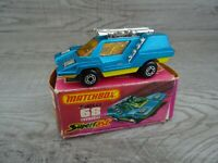 Vintage Lesney Matchbox Superfast 1975 Cosmobile No 68 Diecast Toy Car Boxed