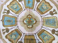 Authentic HERMES Scarf 100% Silk Poste et Cavalerie Pink Box Good 92083 B