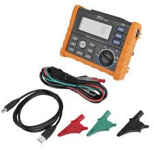 PEAKMETER PM5910 Digital Resistance Meter RCD Loop Resistance Tester Multimeters