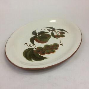 """Stangl Orchard Song Oval Serving Platter 15"""" Vintage 1970s"""