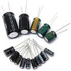 120pcs 15 Value 50V 1uF-2200uF Electrolytic Capacitor Assortment Kit Set New