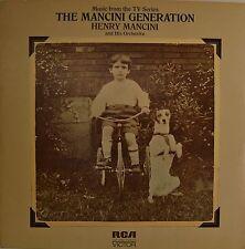 "OST BANDE ORIGINALE - THE MANCINI GENERATION - HENRY MANCINI 12"" LP (L689)"