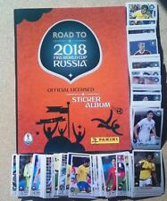 Road to World Cup Russia 2018 Empty album + complete set 480/480 stickers