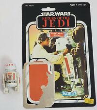 Vintage Kenner Star Wars R5-D4 figure with ROTJ backer card Complete