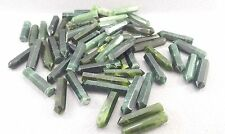Green Nephrite Jade 59Pcs handmade faceted crystals lot for pendants & jewelry