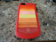 Tory Burch Block-T Degrade iPhone 6 6s Rechargable Battery Case Red GENUINE