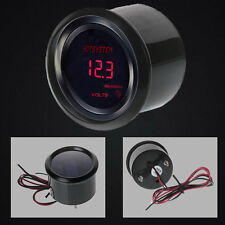 "New 2"" 52mm Digital LED Electronic Volt Voltmeter Gauge Car Motor #39 HOTSYSTEM"