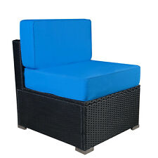 Patio Outdoor Wicker Rattan Sofa Sectional Furniture Set with Cushions